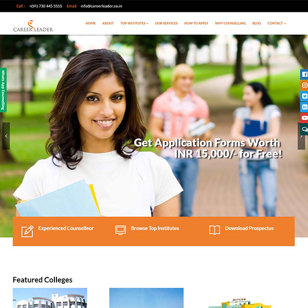 careerleader-website-screenshot