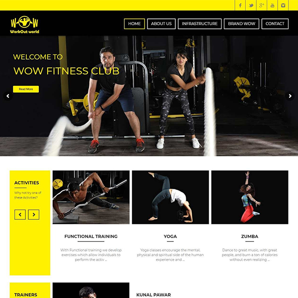 wowfit-website-screenshot
