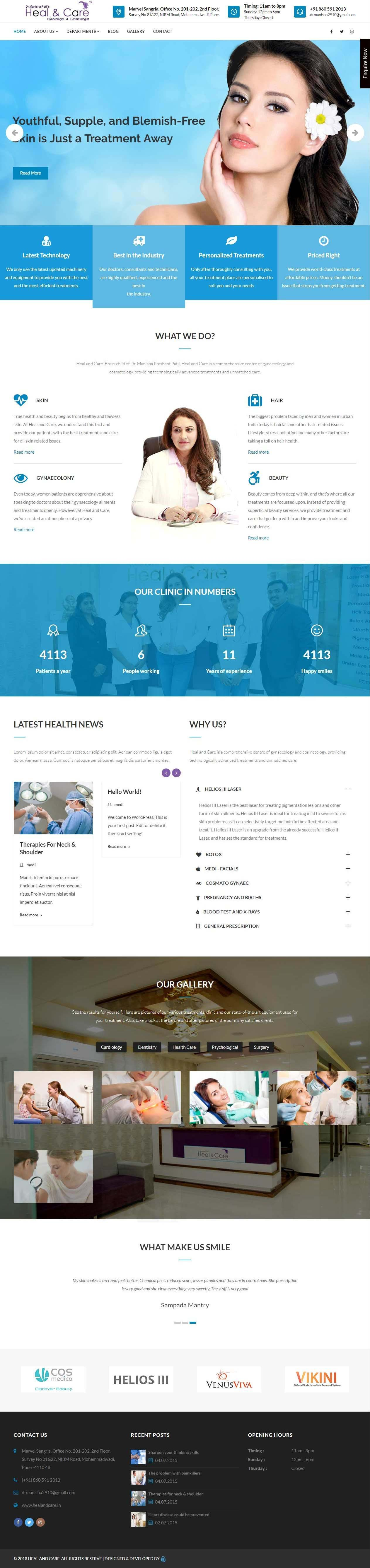 healandcare-website-screenshot